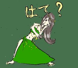 Belly Dance sisters sticker #4259375