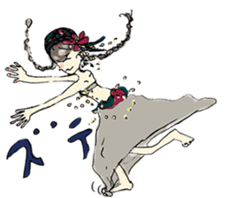 Belly Dance sisters sticker #4259378