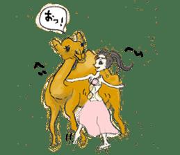 Belly Dance sisters sticker #4259393
