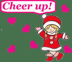 Friends with Santa Claus! sticker #4260322
