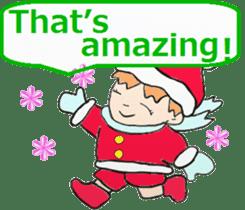 Friends with Santa Claus! sticker #4260325