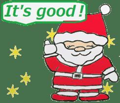 Friends with Santa Claus! sticker #4260326
