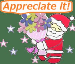 Friends with Santa Claus! sticker #4260327