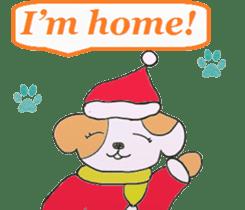 Friends with Santa Claus! sticker #4260328