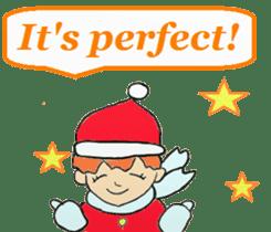 Friends with Santa Claus! sticker #4260331