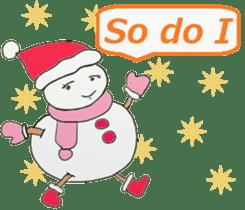 Friends with Santa Claus! sticker #4260332