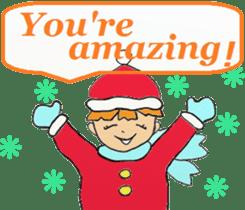 Friends with Santa Claus! sticker #4260336