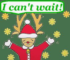 Friends with Santa Claus! sticker #4260337
