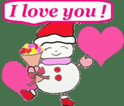 Friends with Santa Claus! sticker #4260338
