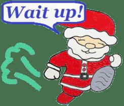 Friends with Santa Claus! sticker #4260339