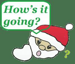 Friends with Santa Claus! sticker #4260341