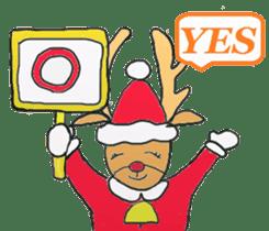 Friends with Santa Claus! sticker #4260344