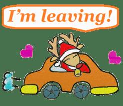 Friends with Santa Claus! sticker #4260346