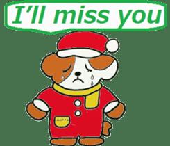 Friends with Santa Claus! sticker #4260348