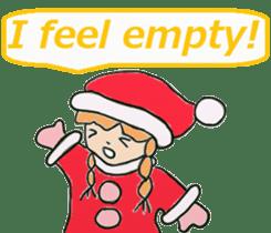 Friends with Santa Claus! sticker #4260349