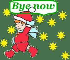 Friends with Santa Claus! sticker #4260351