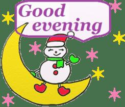Friends with Santa Claus! sticker #4260356