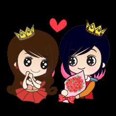 Princess & Prince(in English)