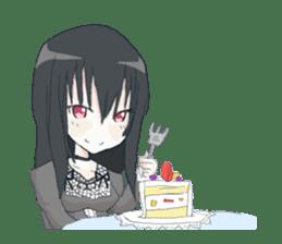 Gothic Lolita Darkness sticker #4261090