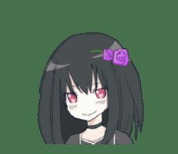 Gothic Lolita Darkness sticker #4261095