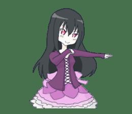 Gothic Lolita Darkness sticker #4261116