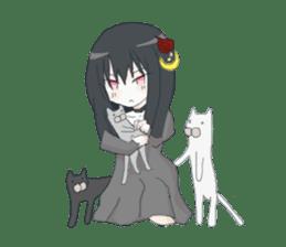 Gothic Lolita Darkness sticker #4261117