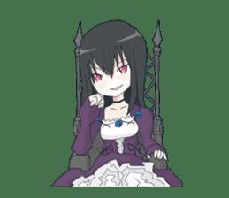 Gothic Lolita Darkness sticker #4261119