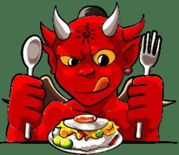 JK Red Devils sticker #4261129