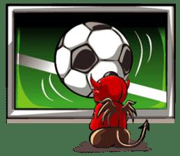 JK Red Devils sticker #4261134