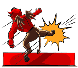 JK Red Devils sticker #4261138