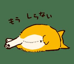Corgi Tea Time sticker #4261344