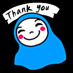 Hijab girl Zukinchan (English)
