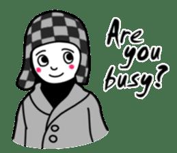 Hijab girl Zukinchan (English) sticker #4269525