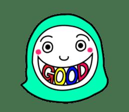 Hijab girl Zukinchan (English) sticker #4269529
