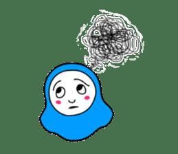 Hijab girl Zukinchan (English) sticker #4269545