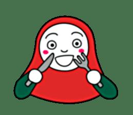 Hijab girl Zukinchan (English) sticker #4269556