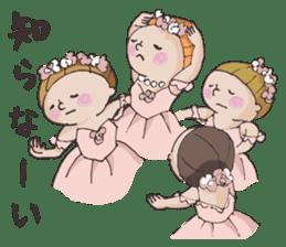 E-san_ballet version sticker #4270969