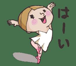 E-san_ballet version sticker #4270990