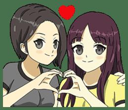 Moki & Muka Net Idol sticker #4272528