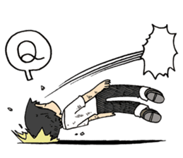 Sticker of Arawi Keiichi sticker #4274879
