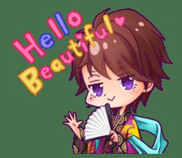 Cute Ninja - Japanese Anime sticker #4276009