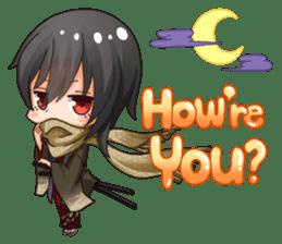 Cute Ninja - Japanese Anime sticker #4276010