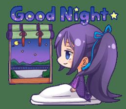 Cute Ninja - Japanese Anime sticker #4276011