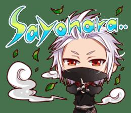 Cute Ninja - Japanese Anime sticker #4276012