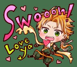 Cute Ninja - Japanese Anime sticker #4276028