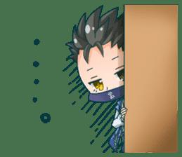 Cute Ninja - Japanese Anime sticker #4276033