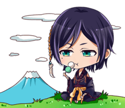 Cute Ninja - Japanese Anime sticker #4276036