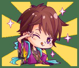 Cute Ninja - Japanese Anime sticker #4276037