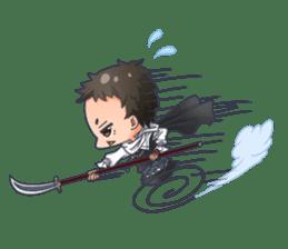 Cute Ninja - Japanese Anime sticker #4276038