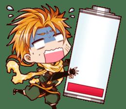 Cute Ninja - Japanese Anime sticker #4276039